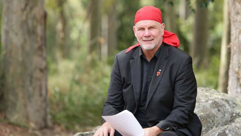 Peter FitzSimons: Why I wear the red bandanna