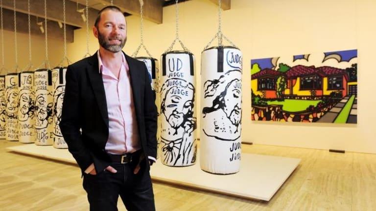 Do pop in: Wayne Tunnicliffe with Warhol.