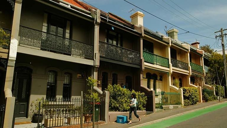 Threat: Beautiful terrace-lined streets could be in peril.