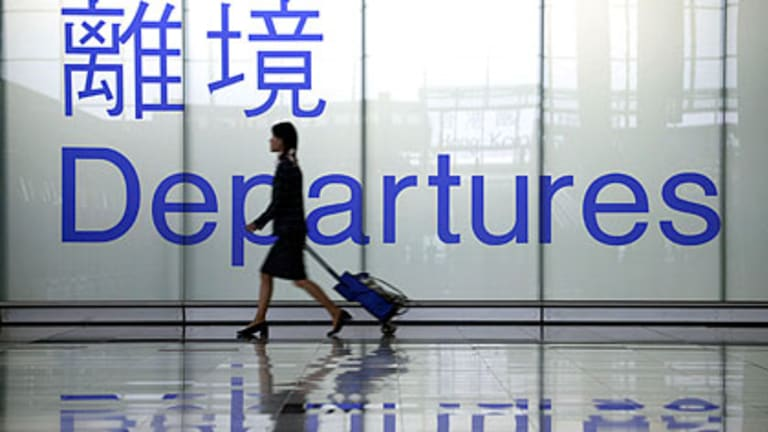 The figures ... Some of the world's busiest airports are showing signs of improved performance.
