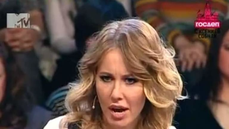Host Kseniya Sobchak ...  Kosdep on MTV Russia