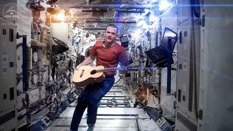 Twist on a David Bowie song: Chris Hadfield.