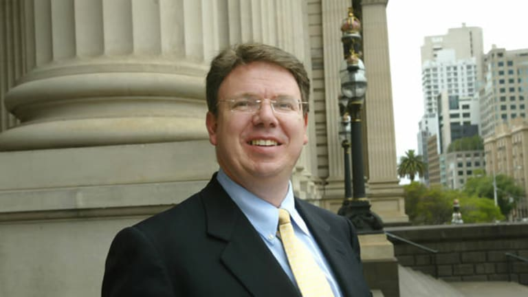 Evan Thornley, pictured in 2007, has announced his resignation from the Victorian Parliament.