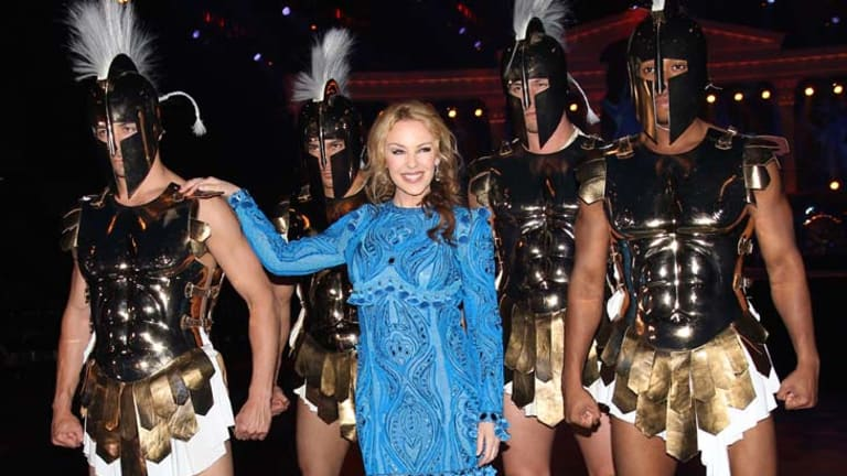 Sexier than Pippa Middleton? ... Kylie Minogue.