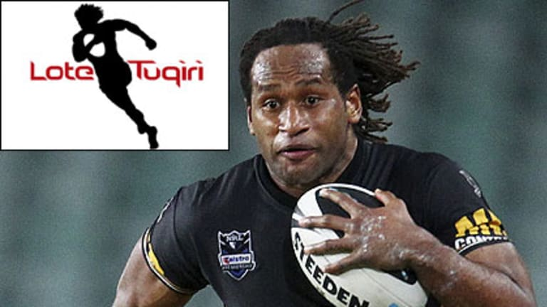 The Magpies' jerseys, which Wests Tigers winger Lote Tuqiri once wore as a junior, will be emblazoned with the star's official logo as part of a sponsorship deal.