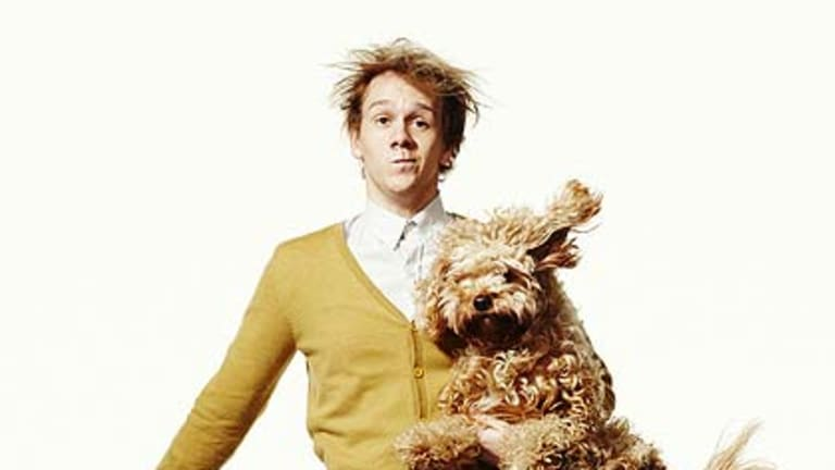 """Josh Thomas ... """"his stand-up comedy routines are deeply personal: if you took all his one-liners and strung them together, you'd have the beginnings of a sometimes brutally honest autobiography."""""""