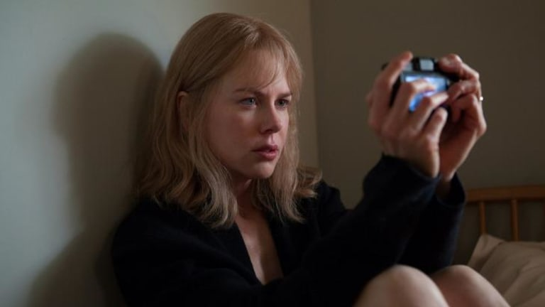Subtle differences: Nicole Kidman's character in <i>Before I Go to Sleep</i> videotapes her memories; in the book the character used a journal.