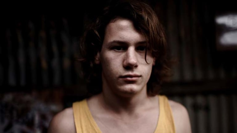 Portrait of a killer ... Lucas Pittaway plays John Bunting's teenage accomplice Jamie Vlassakis in <i>Snowtown</i>.