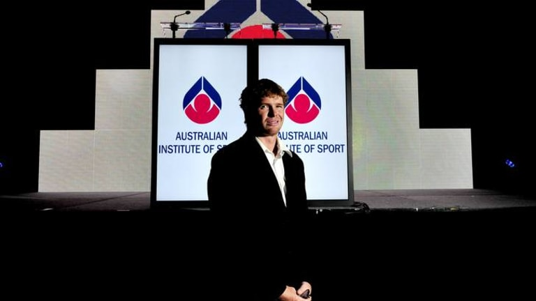 AIS Athlete of the Year joint winner Tom Slingsby.