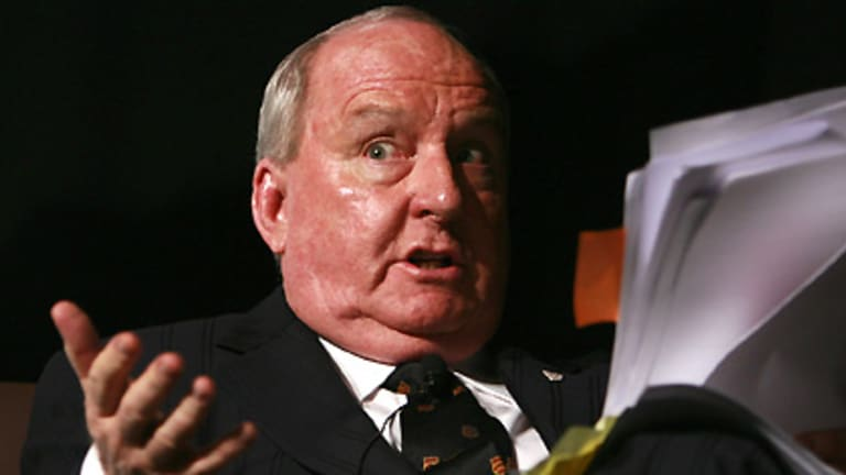 Alan Jones ... took issue with Julia Gillard.