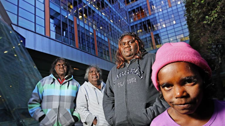 """Aboriginal elder Penny Phillips: """"We will fight for the land."""""""