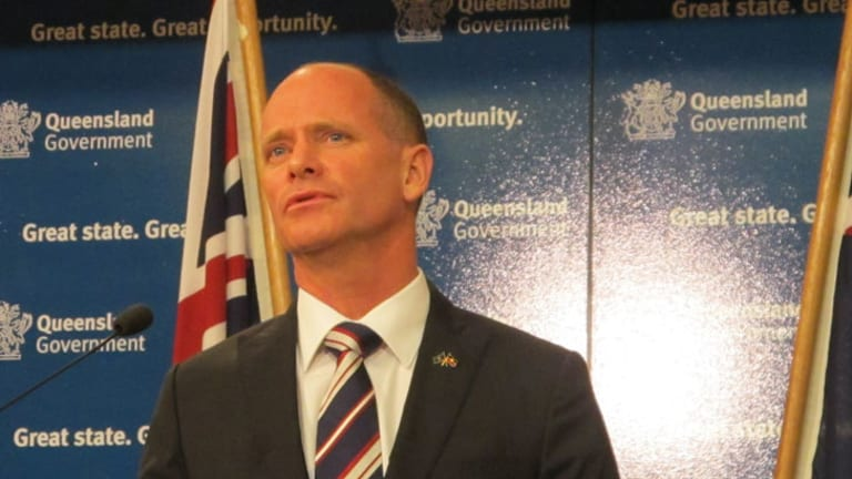 Premier Campbell Newman revealed Monday that he had contacted LNP president Bruce McIver to request that Mr Driscoll be suspended from the party.
