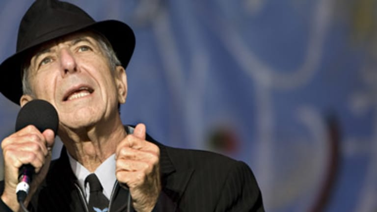 Canadian poet-songwriter Leonard Cohen performs in Amsterdam. He comes to Perth on February 7 at Sandalford Winery with special guest Paul Kelly.