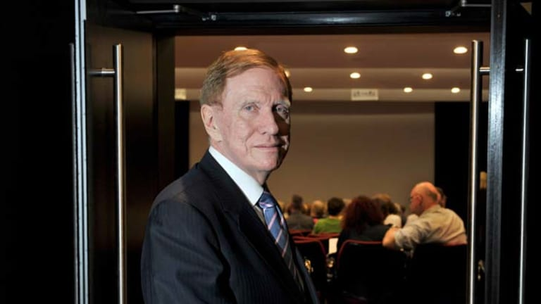 """Michael Kirby ... drift of students to top private schools """"undesirable""""."""