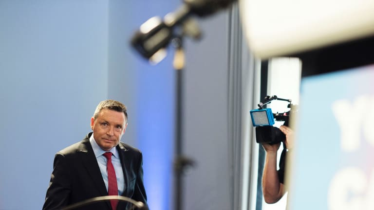 """No"" spokesman Lyle Shelton in Sydney on Wednesday."