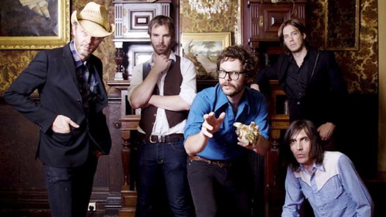 Wagons' new album, <i>Rumble, Shake and Tumble</i>, is their best in a decade, according to Henry Wagons.