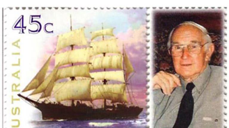 Jack Peake, philatelist.