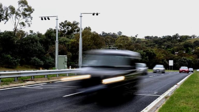 Police have accessed images from the new average speed cameras on Hindmarsh Drive for general criminal surveillance.