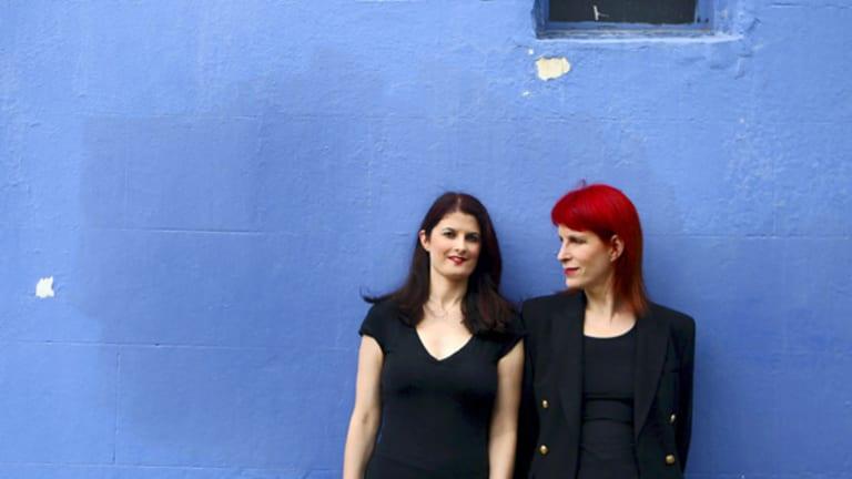 Katrina Fox, left, and partner Tracie O'Keefe.