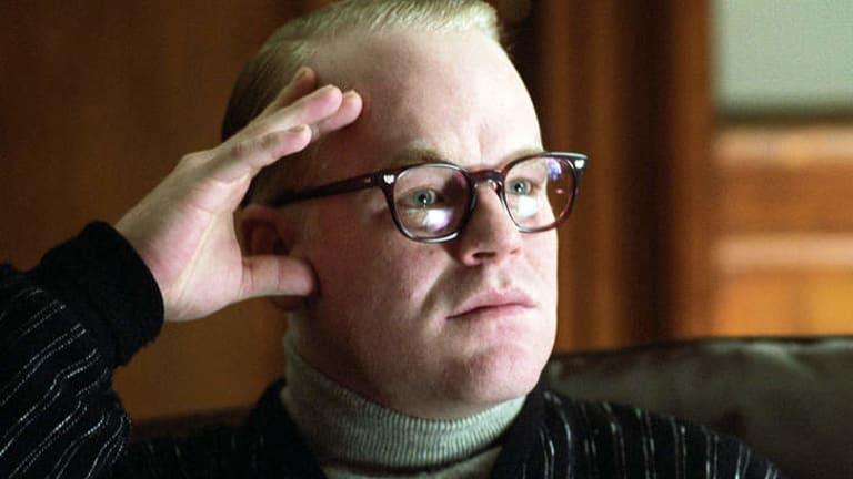 Philip Seymour Hoffman won an Oscar for his role as Truman Capote.