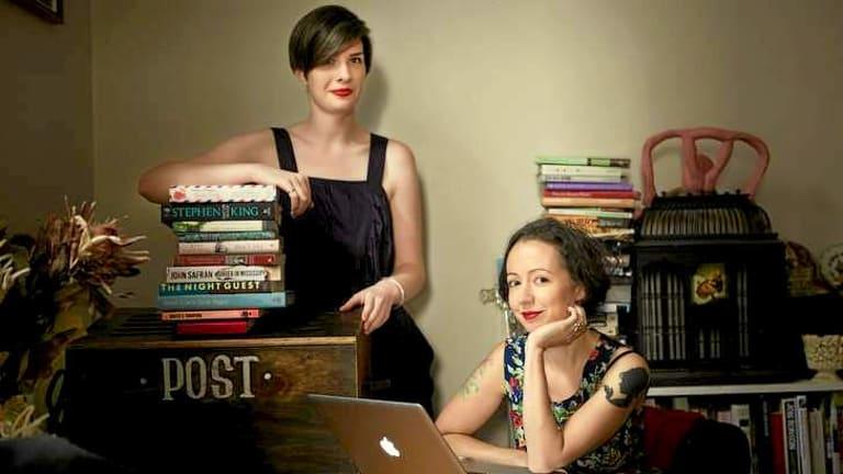 Michaela McGuire (left) and Marieke Hardy.