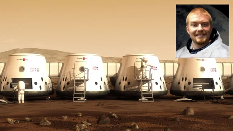 Josh Richards remains in the running for the Mars One mission.