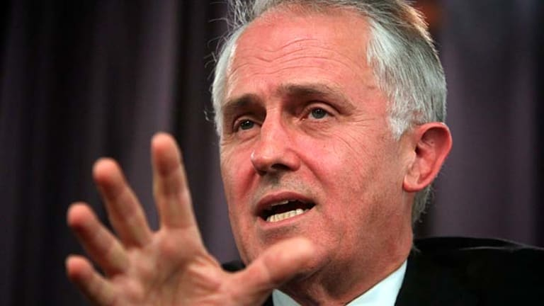 Farcical ... 'If you put this into an episode of Yes Minister nobody would believe it,' said Malcolm Turnbull.