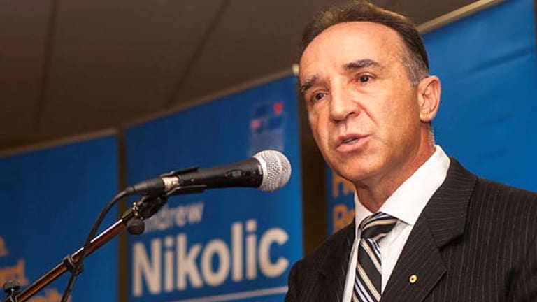 Andrew Nikolic, Liberal candidate for Bass, Tasmania.