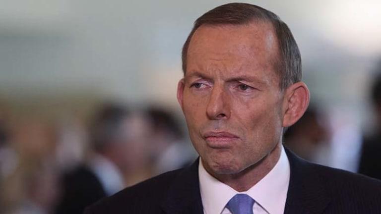 Prime Minister Tony Abbott: said that the ABC  ''instinctively takes everyone's side but Australia's''.