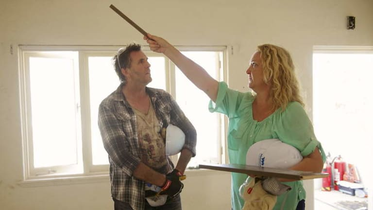 NSW's Michelle and Steve on <i>House Rules</i>.