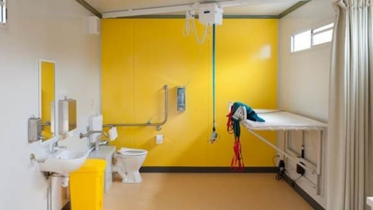 The new 'Changing Places' toilet offers more dignity for disabled users.