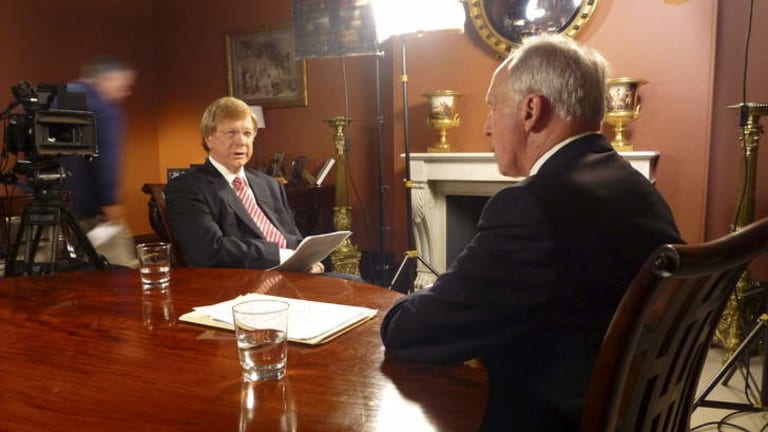 <i>Keating: The Interviews</i> screens on Tuesday nights on ABC1.