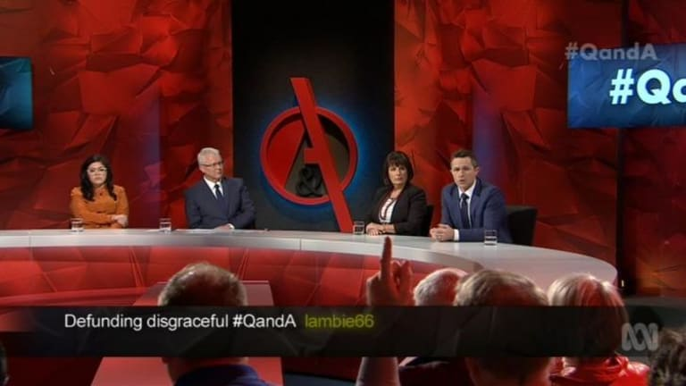 The panellists had plenty to say about SBS documentary series <i>Struggle Street</i>.