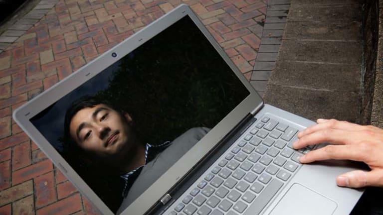 Secure ... pickpocketing victim David Bui believes in online storage.
