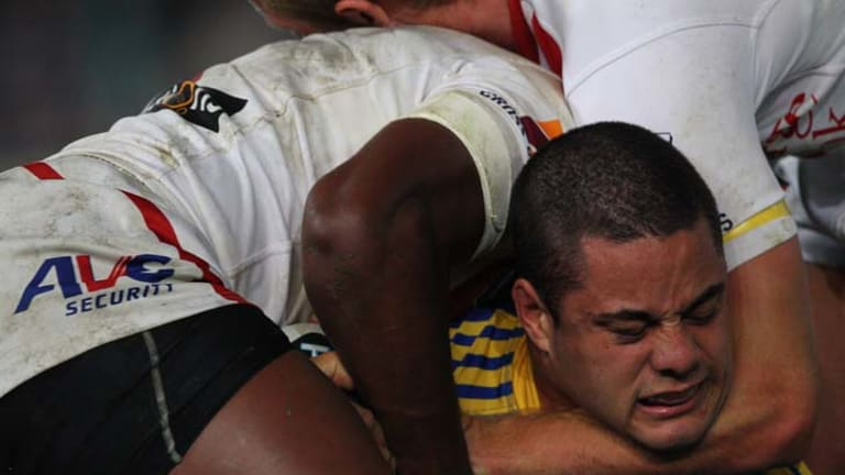 """""""Only once in their past seven outings without Hayne have Parramatta enjoyed success."""""""