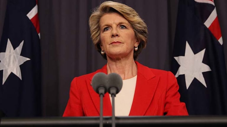 Foreign Affairs Minister Julie Bishop opposes a UN resolution to condust an independent war crimes investigation in Sri Lanka.