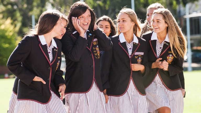 Being the centre of attention and popularity is key to Ja'mie's sense of pride and purpose.