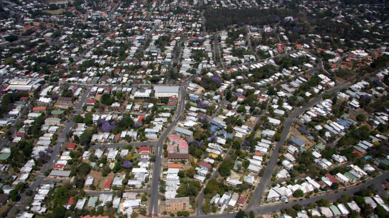 The number of Queenslanders who own their home outright has fallen below the national average.