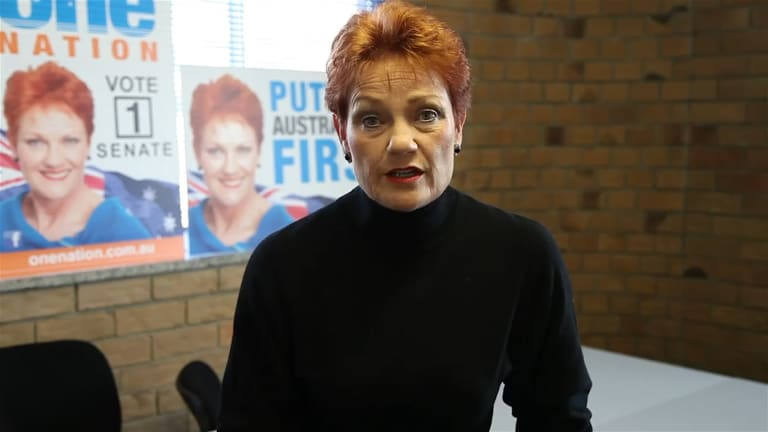 Pauline Hanson wants the Family Court to be abolished.