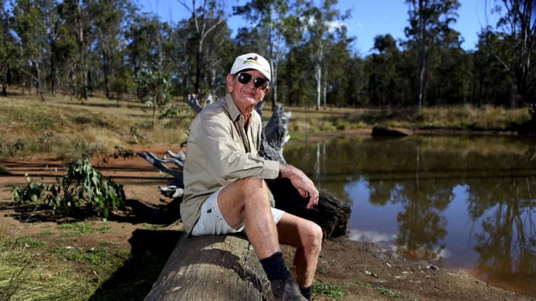 """Miserable future"" ... Bob Irwin, who was arrested last month, fears mining's effects."