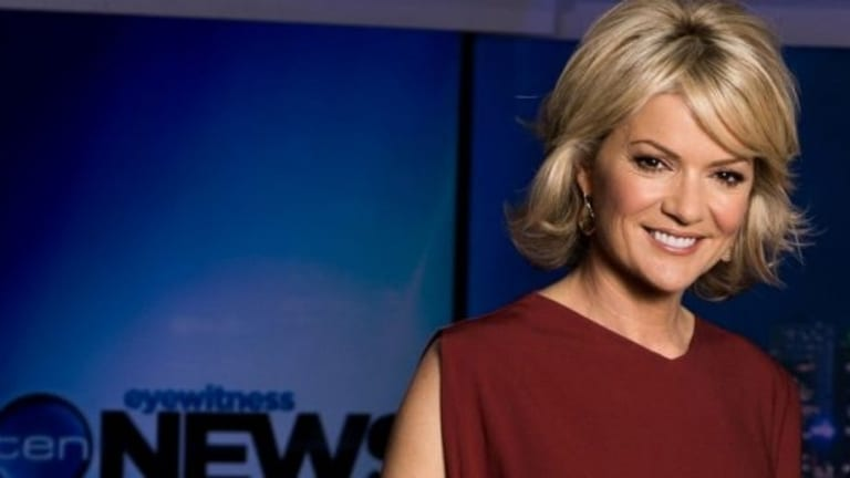 Sandra Sully is one of Ten's most popular anchors - but staff fear its news division will be cut.