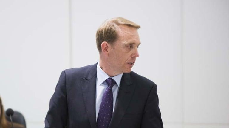 Environment Minister Simon Corbell.