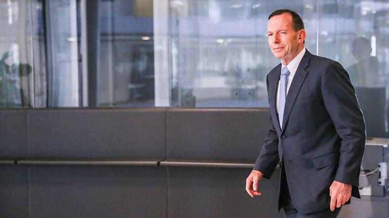 """""""There is a looming humanitarian catastrophe unfolding in northern Iraq right now"""": Tony Abbott."""