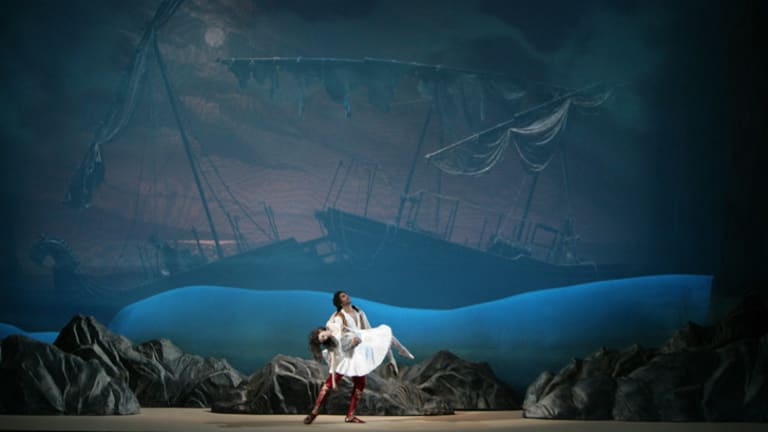 The Bolshoi Ballet's <i>Le Corsaire</i>, a new production of the 19th-century classic.