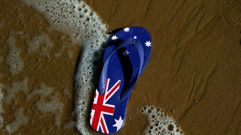 Australia's population growth slowed to 1.4 per cent in 2014, down from 1.8 per cent two years earlier.