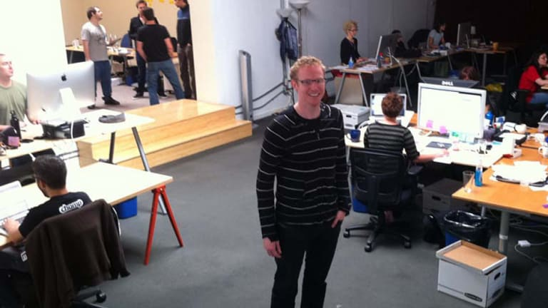Ben Keighran at the Chomp headquarters in Silicon Valley.