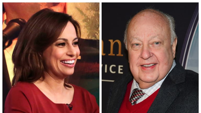 Julie Roginsky filed a lawsuit against the network's former chief executive Roger Ailes (pictured) and its current co-president Bill Shine.