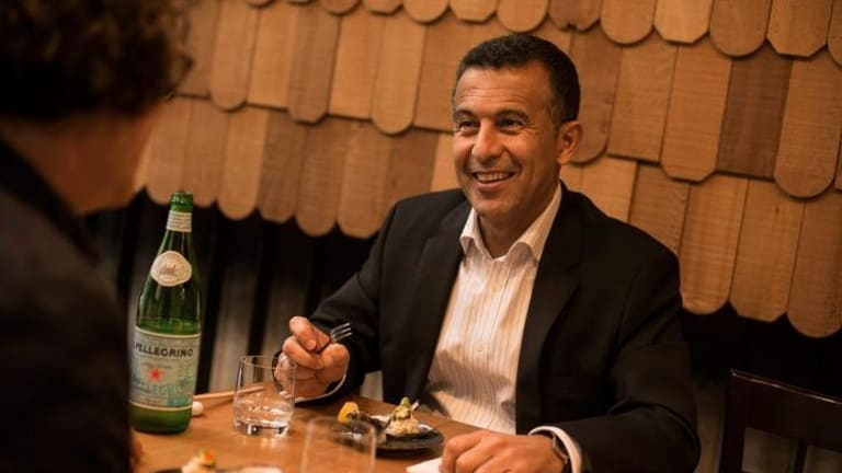 SBS CEO Michael Ebeid has a fondness for Japanese cuisine and Danish TV dramas.