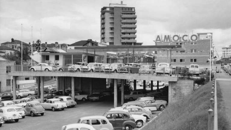 Amoco service station in Balmoral, designed by BVN Architects.