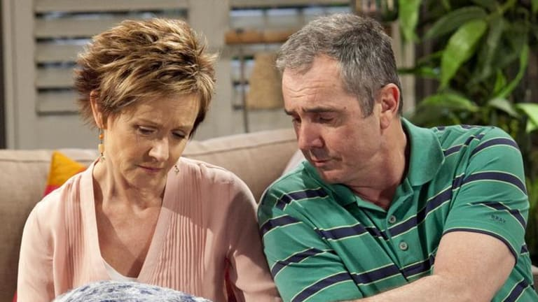 Neighbours' producers juggle lengthy histories with mainstays such as Susan and Karl Kennedy (Jackie Woodburne and Alan Fletcher).